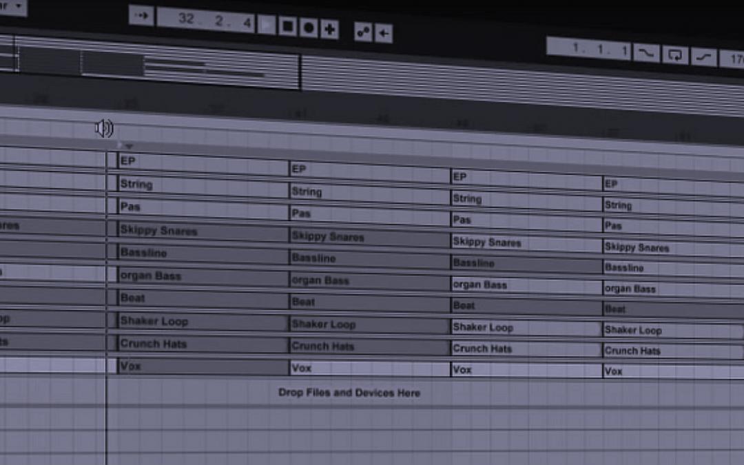 Finishing tracks with subtractive arrangement