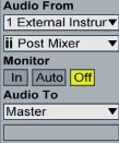 Audio in time - correct routing