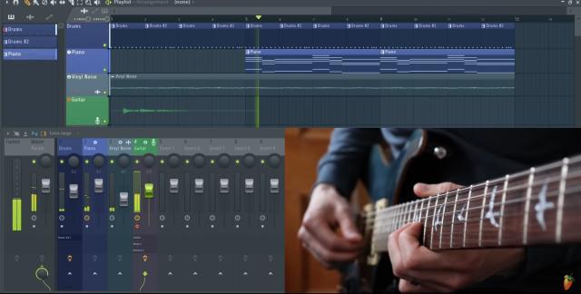 Recording a guitar in FL Studio