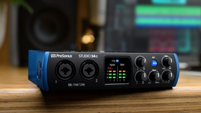 Audio interface for the small home studio