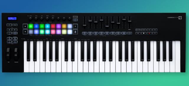 Novation LaunchKey 49 MK3 MIDI keyboard